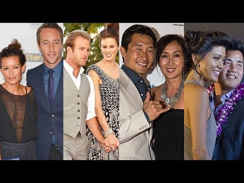 Hawaii Five-0 ... and their real life partners