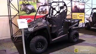 10. 2016 Kymco UXV 450i Utility ATV - Walkaround - 2015 AIMExpo Orlando