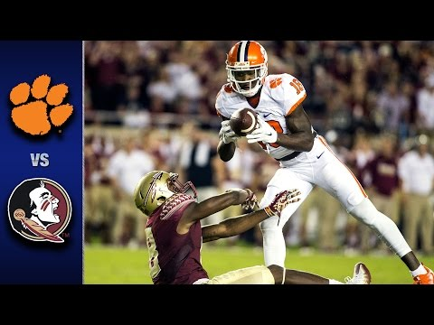 Clemson vs. Florida State Football Highlights (2016) (видео)