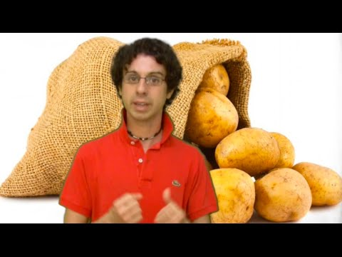 attenzione: non si sbuccia la patata.. ecco perchè!