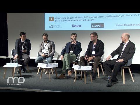Panel: Kann TV-Streaming eine Alternative zu Kabel-/Sat-/terrestrischem Fernsehempfang sein?