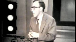 An early Woody Allen performance on the Jack Paar Show.
