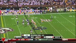 Zach Mettenberger vs Mississippi State (2013)
