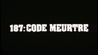 187: code meurtre - Bande annonce