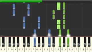 Try Everything - Shakira - Easy Piano Tutorial (Free Sheet Music and MIDI)