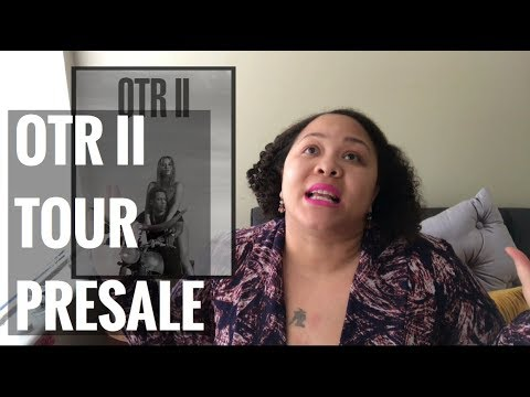 OTR II TOUR ANNOUNCEMENT! | Beyhive Presale (Reaction)