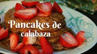 Pancakes de calabaza