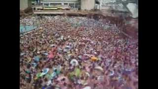 INSANE wave pool of people in Tokyo