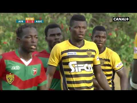 Ligue 1 J10 Africa Sport 1 - 3 ASEC Mimosas (saison 2018-2019)