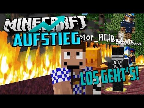 MINECRAFT: AUFSTIEG #00 – Vorstellung + Führung   Let's Play Minecraft