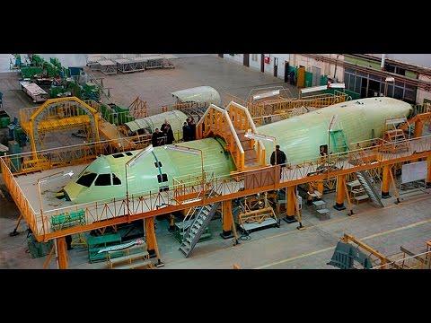 Сборка первого летного образца Ил-112В