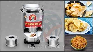 NIRALI Potato Chips-Wafer Machine or Potato Slicer Machine (PCM250) (+91-97245 55800)