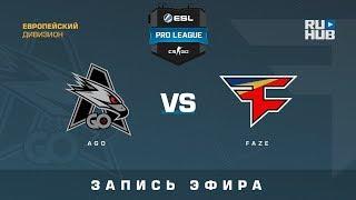 AGO vs FaZe - ESL Pro League S7 NA - de_cache [CrystalMay, Smile]