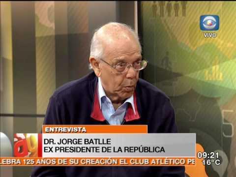 Entrevista - Jorge Batlle sobre Raúl Sendic