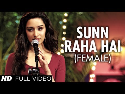 """Sun Raha Hai Na Tu Female Version"" By Shreya Ghoshal Aashiqui 2 Full Video Song 