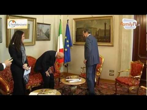 FederAnziani incontra il Presidente della Camera dei Deputati G. Fini