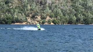 6. Jet skiing on 7-5-19 Kawasaki 800 SX-R SXR