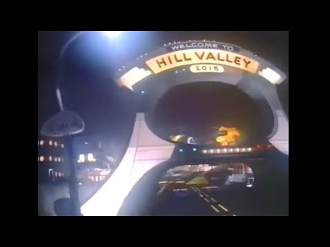 Back to the Future The Ride A Universe of Cinemagic Universal Studios Hollywood (1992)