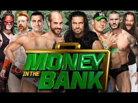 Money In The Bank 2014 - WWE World Heavyweight Championship Full Ladder Match HD