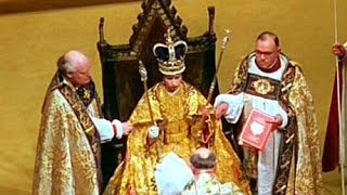 Video 1953. Coronation of Queen Elizabeth II: 'The Crowning Ceremony' MP3, 3GP, MP4, WEBM, AVI, FLV Januari 2018