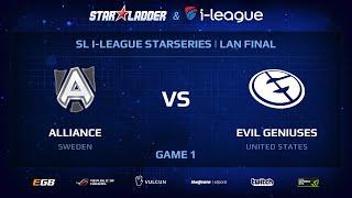 Evil Genuises vs Alliance, game 1