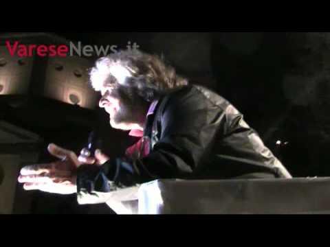 Beppe Grillo a Legnano