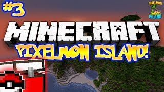"""SO MUCH LOOT!""- PIXELMON ISLAND ADVENTURE! (Minecraft Pokemon Mod) - #3"