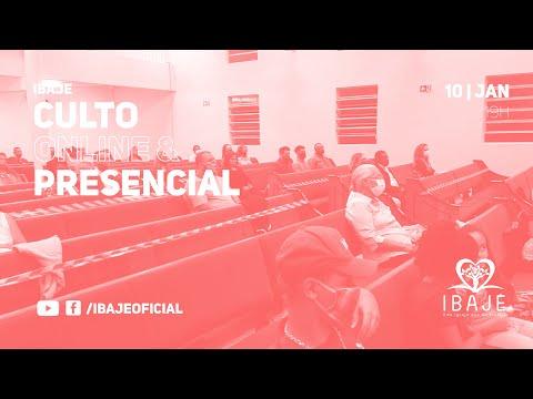 [LIVE] Culto Online IBAJE | Domingo, 10 de Janeiro | Pr. Rock Mariano