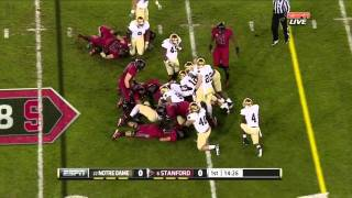 David Decastro vs Notre Dame 2011