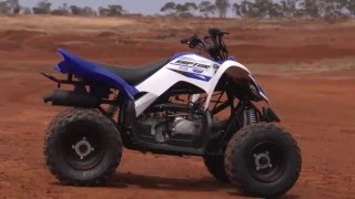 1. MXTV Bike Review - Yamaha Raptor 90