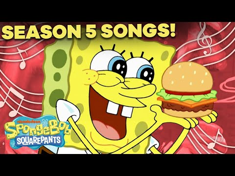 "Season 5 SpongeBob Songs Compilation! 🎤 ft. Every Song from ""Atlantis SquarePantis"""