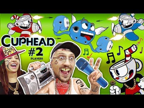 FGTEEV LEARN 2 RAP GAME! CUPHEAD & MUGMAN #2 Mommy Co-Op! 2 PLAYERS is Harder than1 (Gameplay Songs) (видео)