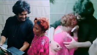 Director Puri Jagannadh Meets Lokulu Kakulu Aunty | Lokulu Kakulu Aunty Gets Emotional