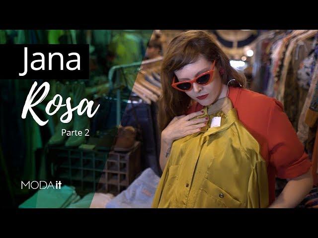 Moda it - Montando looks de brechó com Jana Rosa - Moda it