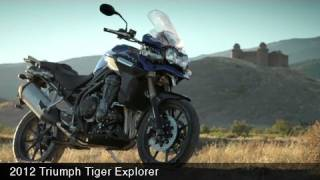 2. 2012 Triumph Tiger Explorer First Look - MotoUSA