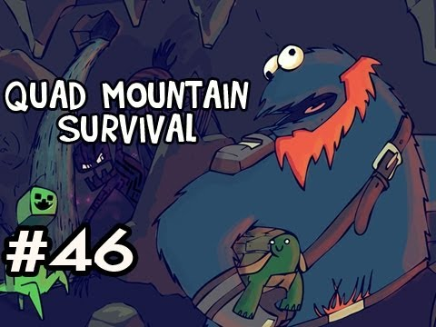 Minecraft: Quad Mountain Survival w/Nova Ep.46 - SURPRISE! Video