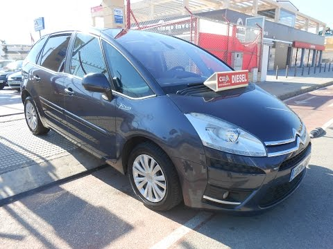 See video Citroen C4 PICASSO 1.6 HDI SX