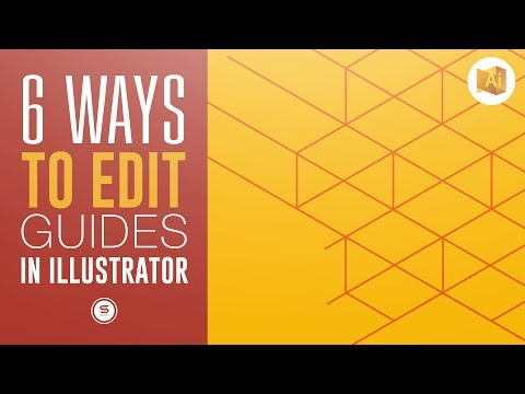 6 Ways To Edit Illustrator Guides | Illustrator Guidelines Tutorial | Satori Graphics
