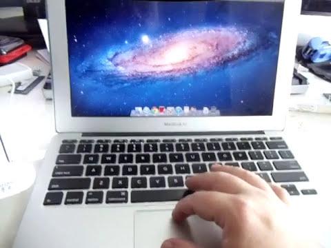How to Eject DVD CD disc USB SuperDrive Macbook AIR (Maverick Yosemite Lion MD564M/A MC684ZM/A A1270