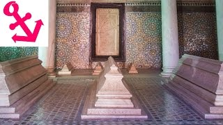 http://yesnomads.com/ This video gives you brief overview of the Saadian burial site in Marrakech. More details are mentioned in ...