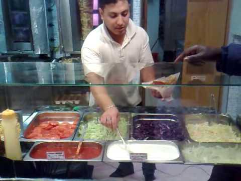 Brescia,Turkish doner kebab, Italy