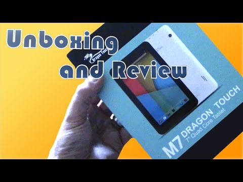 M7 Dragon Touch Android Tablet Unboxing and Thoughts