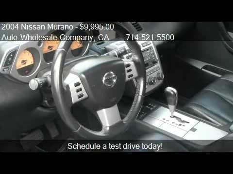 2004 Nissan Murano SL 2WD – for sale in Buena Park , CA 9062