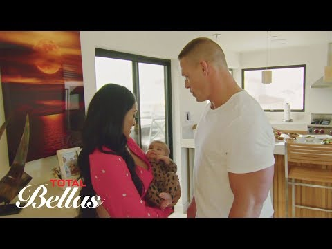 John Cena meets The Bella Twins' niece for the first time: Total Bellas, Sept. 6, 2017
