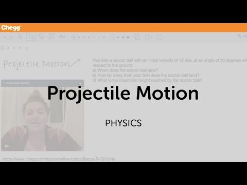 PROJECTILE MOTION Physics Homework Help  Physics Assignments and     Study com