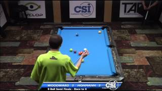 2014 CSI USBTC 9 Ball Semi Final: Skyler Woodward Vs Thorsten Hohmann