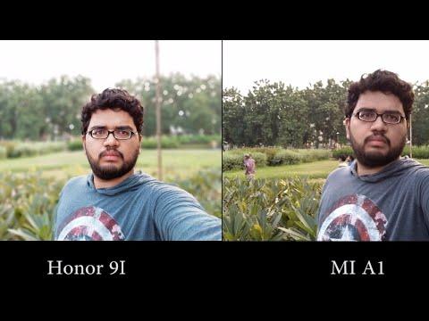 Honor 9i vs Mi A1 Camera Comparison