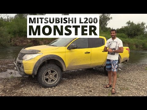Mitsubishi monster фотка