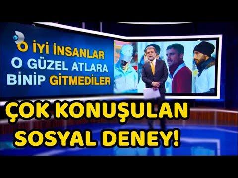 HABERLERE ÇIKTIK!! - ÇOK KONUŞULAN SOSYAL DENEY!