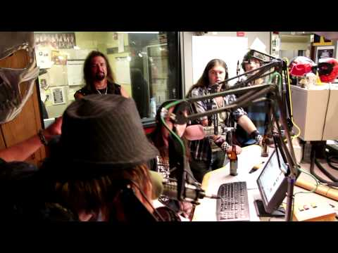 Sin Circus On KISW Metal Shop August 17, 2013